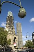 Gedaechtnis church, Berlin - stock photo