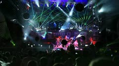 View on Kazantip's 2012 stage - stock footage