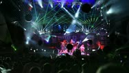 View on Kazantip's 2012 stage Stock Footage