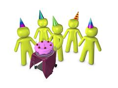Happy birthday Stock Illustration