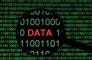 Binary data Stock Illustration