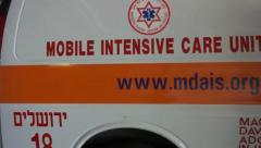 Intensive care ambulance device Stock Footage