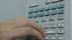 Electronic devices in the laboratory Stock Footage