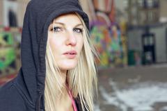 Beautiful fitness woman Stock Photos
