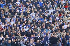 Dynamo kyiv team supporters - stock photo