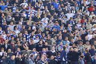 Dynamo kyiv team supporters Stock Photos