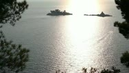 Summer Sea Islands Stock Footage