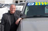 Car sales man Stock Photos