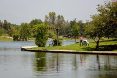 Stock Photo of Balboa Lake