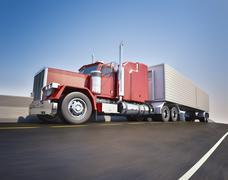 Big 18 wheeler Stock Photos