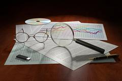 data analysis - stock illustration