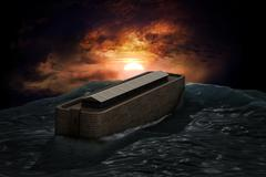noah's ark - stock photo
