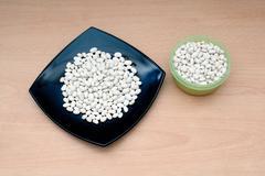 White string bean Stock Photos