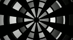 Rotating grid Stock Footage