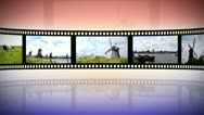 Reel clip holland loop-able Stock Footage