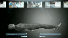Human Body Scan Stock After Effects