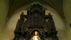 Cathedral of Lima (inside) Stock Footage