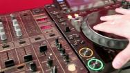 DJ console Stock Footage