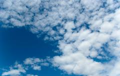 beautiful cloudscape - stock photo