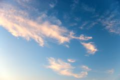 Beautiful cloudscape Stock Photos