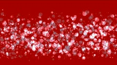 Float bubble & blister underwater,pearls & fish roe. Stock Footage