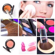 Stock Photo of make-up collage
