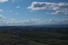 Arthur'Seat and Edinburgh Stock Photos