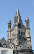 Church in Cologne, Germany - stock photo