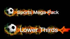 Lower Thirds Sports Pack - stock after effects