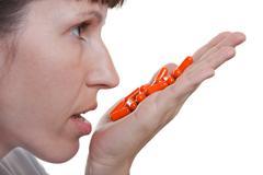 Stock Photo of medicine pill dose