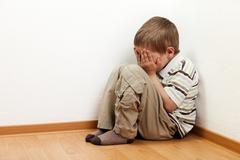 child punishment - stock photo