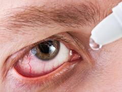 Medicine eyedropper Stock Photos