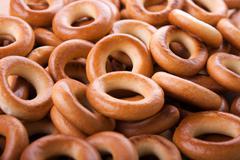donut food - stock photo