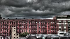 New York Apartment Building - stock footage