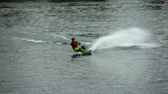 Wakeboard Jumps Stock Footage