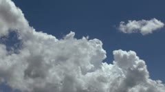 Fast Moving Cloud Mass Time Lapse Stock Footage