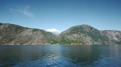 Norway's mountains Stock Footage