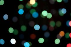 defocused light - stock photo
