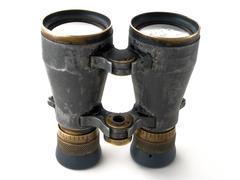 Binoculars lens Stock Photos