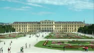 Stock Video Footage of Schonbrunn Palace