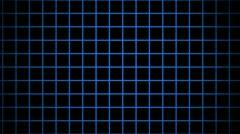 blue grid - stock footage