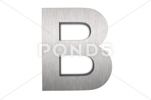 Stock Illustration of letter b