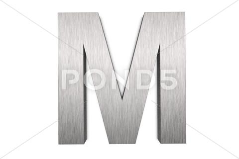 Stock Illustration of letter m