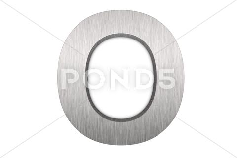 Stock Illustration of letter o