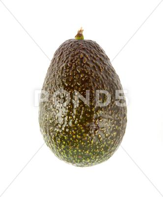 Stock photo of green avocado