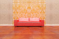 Red sofa Stock Illustration