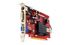 computer graphic card - stock photo