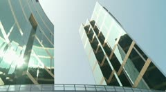Skyscapers - stock footage
