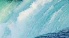 Pure Fast Running Waterfalls Stock Footage