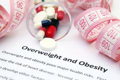 overweight and obesity - stock photo